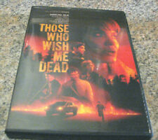 Those Who Wish Me Dead (DVD 2021) WITH ANGELINA JOLINE~ PREORDER