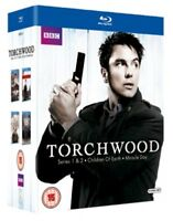Torchwood: Series 1-4 Blu-Ray (2011) John Barrowman, Kelly (DIR) cert 15 16