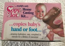 Diy Baby Home Casting Kit (Hand/Foot/Fingerprints) American Baby Products 1988