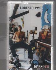LORENZO JOVANOTTI LORENZO 1992 MC K7 MUSICASSETTA SIGILLATA!!!