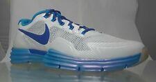 Nike Men's Lunar TR1 Training Sneakers 531975-103 White/Blue Dynamic 11.5