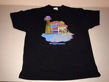 Vintage Planet Hollywood Walt Disney World Florida Black Tshirt XL 1990s