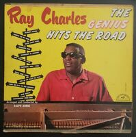 RAY CHARLES   THE GENIUS HITS THE ROAD Vinyl Record LP