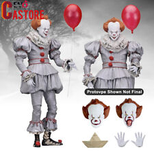 "NECA IT Ultimate Pennywise Clown 7"" Action Figure 1:12 Movie Doll 2018 New Seale"