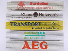 Sammlung 5x Zollstock Meterstab Onduline Bardoline TOP! 1603-15-27