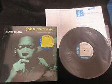 John Coltrane Blue Train Japan Vinyl LP with Shrink Unique 2nd Version Bluenote