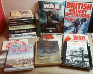 Job Lot. 18 x War and Military Themed Books