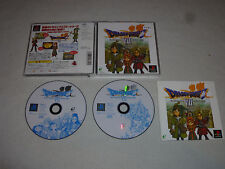 JAPAN IMPORT GAME PLAYSTATION DRAGON QUEST VII 7 W CASE & MANUAL ROLE PLAY ENIX