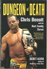 VERY RARE Chris Benoit  Dungeon of Death Wrestling  Autobiography  w/COA