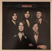 HUNTER Hunter UK vinyl LP EXCELLENT CONDITION S/T Same self titled