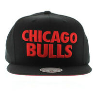 Chicago Bulls Authentic Mitchell and Ness The Title Snap Back Hat