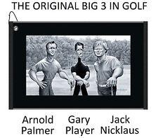 New Devant Golf David O'Keefe Rendered Big Three Towel Black/White DVST18466H