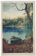 Vintage Postcard Montevideo -  Carrasco - Bello rincon del Parque Durandeau