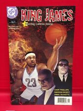 King James 1 A DC Comic Lebron The King Of Basketball Powerade