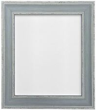 Vintage Distressed Blue Photo Picture Frame in Various Sizes 46x20mm Ap-4620 50x70cm (plastic Glass)