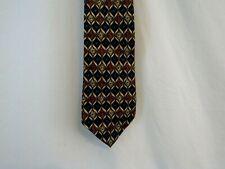 Nordstrom Necktie Nice Pattern, Made in Italy 100% Silk