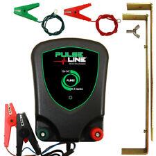 Electric Fence Energiser  PULSELINE 12V PLB02 0.2J Fencer