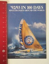 Pegatina/sticker:' 92/93 en 100 Days Singlehanded-Zeeman (010616124)