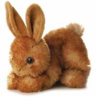 Aurora MINI FLOPSIE BITTY BUNNY Baby/Child 15cm Soft Teddy Toy/Gift Nursery BN