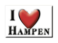 HAMPEN (ENG) FRIDGE MAGNET GREAT BRITAIN I LOVE SOUVENIR UK ENGLAND-2890