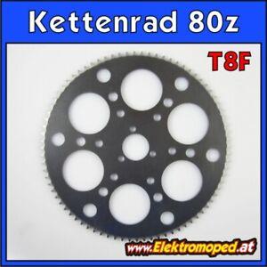 Ersatzteil Elektro-Scooter T8F 80 Zähne Laser Kettenrad dicke Kette Berg Steigun