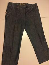 Galliano Donna Jeans 3/4 W Nuovo Taglia 36