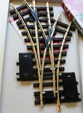 LGB 12360 G - elektrische Dreiwegweiche R1 30° NEU & OvP