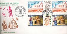 580771 / Beleg FDC TCHAD 1979