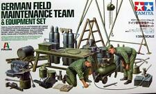 Tamiya WWII German Field Maintenance Team & Equipment Set model kit 1/35
