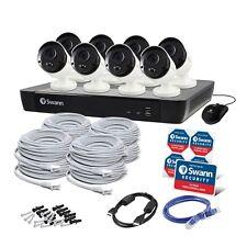 Swann NVR16-8580 16CH 4K 2TB 8x NHD-885MSB 4K 8MP POE Camera SWNVK-1685808 $2999