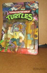 TMNT Baxter Stockman Teenage Mutant Ninja Turtles Playmates Vintage Carded Rough