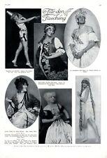 Mode für den Fasching XL Seite 1925 mit 6 Abb. Olga Bartos Trau Kaneval Kostüm