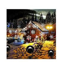 Christmas Lights Outdoor Projector, PRODELI LED Snowflake Light Waterproof