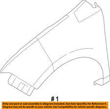 FORD OEM 11-14 Edge-Front Fender Left CT4Z16006A