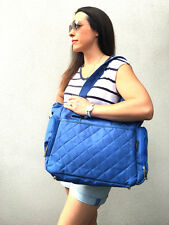 Stylish Fashion Carry Diaper Baby Nappy Bag Blue Mommy Bag (BNWT)