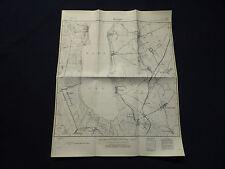 Landkarte Meßtischblatt 2755 Werben in Pommern / Wierzbno, Kreis Pyritz, 1945