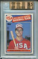 1985 Topps Baseball #401 Mark McGwire Rookie Card RC Graded BGS Gem Mint 9.5