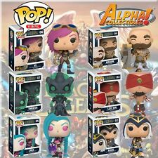 IN STOCK SET 6 FUNKO POP LEAGUE OF LEGENDS VI BRAUM THRESH LEE SIN JINX ASHE