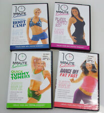 10 Minute Solution Work Out Dvds- set of 4