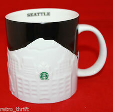 Starbucks Coffee 2012 Relief  Seattle Washington Mug Cup 16 oz Collector Series