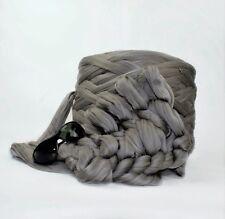 1 kg Gris Paloma mamut ® gigante hilo grueso Extreme brazo Tejer voluminosos Grande