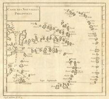 'Carte des Nouvelles Philippines'. Caroline islands. Micronesia. BELLIN 1761 map