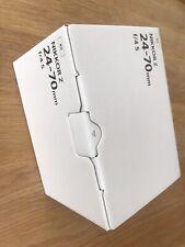 Nikon NIKKOR Z 24-70mm F/4 S lens from Z6 Kit UK model (currys)