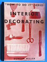 DUNCAN MILLER- INTERIOR DECORATING- STUDIO 1937 -L3225
