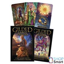 Gilded Tarot Royale Karten Deck Buch Set Ciro Marchetti Moore Llewellyn Neu