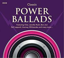 Various Artists - Classic Power Ballads 2015 Rhino 3 CD Set 54 Tracks