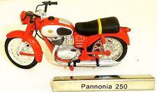 Pannonia 250 Moto Ciclomotor Rda 1:24 Atlas 7168109 Nuevo Emb. Orig. Μ