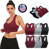 2021 Sports Bras for Women- Padded Seamless High Impact Support Yoga Gym Fitness