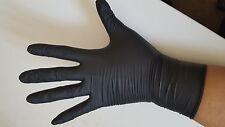 1000 Nitrile Disposable Gloves Large BLACK