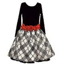 NWT girls BONNIE JEAN Dress Sz 14 Red, Black, White $62 tag